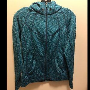 Athleta zip-up with hoodie
